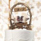 """A Love Nest"" Love Birds In Archway"