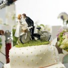"""A Kiss Above"" Bicycle Couple Figurine"