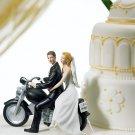 "Motorcycle ""Get-Away"" Couple Figurine"