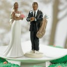 Golf Fanatic Groom & Exasperated Bride - Sold Separately