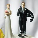 Hockey Groom Mix and Match Wedding Cake Topper