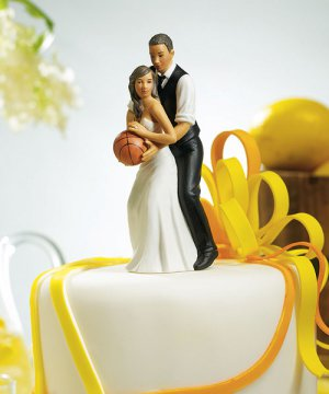 Basketball Dream Team Couple Figurine