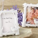 """""""White Woods"""" Forest-Themed High-Gloss-Finish Photo Frame"""