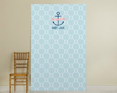 Personalized Photo Booth Backdrop-2 Design Options