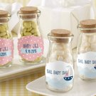 Personalized Milk Jar-Nautical Baby Shower (2 set minimum order required)