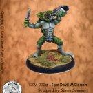 CSM-002a - Sea Devil W/Conch