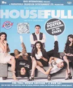 Housefull Hindi DVD * Akshay Kum, Hitesh, Lara, Deepika