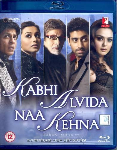 Kabhi Alvida Naa Kehna Blu Ray ( E. Subtitles )