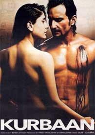 Kurbaan Blu Ray with English Subtitles