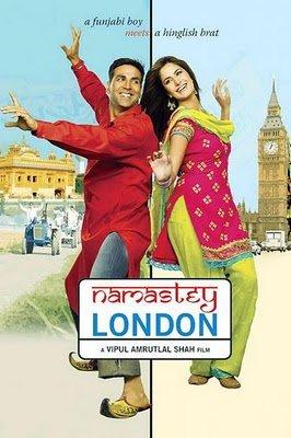 Namaste London Blu Ray with English Subtitles