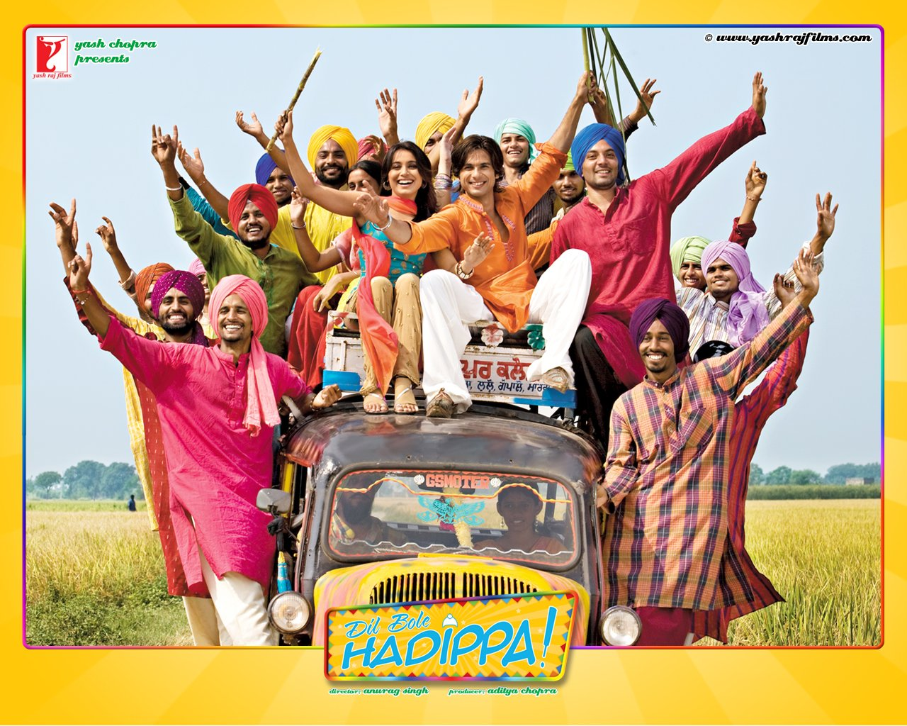 Dil Bole Hadippa Blu Ray - with Eng / Subtitles