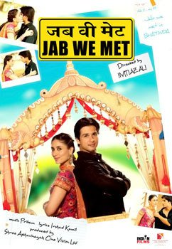 Jab We Met Hindi DVD *ing Kareena Kapoor, Shahid Kapoor