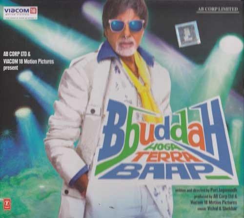 Bbuddah Hoga Terra Baap Hindi Songs CD *Amitabh Bachcha