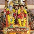 Sri Rama Rajyam Telugu DVD Stg: Balakrishna, Nayantara Directed by Bapu (Indian)