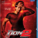 Don 2 Hindi Blu Ray Starring: Shahrukh Khan, Priyanka Chopra, Boman Irani, Directed by Farhan Akhtar