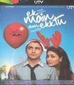 Ek Main Aur Ekk Tu Hindi DVD (Ek Bollywood Indian Film) Imran Khan, Kareena