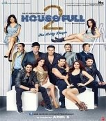 Housefull 2 Hindi DVD (2012 Bollywood Indian Film) Akshay Kuma, John Abraham