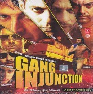 Gang Injunction Hindi Audio CD (2012/Bollywood/Film/Cinema/Movie) (4 CD Set)