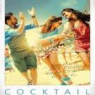 Cocktail Hindi DVD (2012) (Movie/Bollywood/Indian/Film) Saif Ali Khan, Deepika Padukone