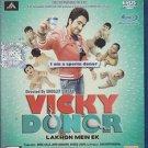 Vicky Donor Hindi Blu Ray (2012/Bollywood/Indian/Cinema/Film/Movie) * Ayushmann