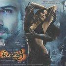 Raaz 3 Hindi Audio CD (2012/Bollywood/Indian/Cinema)*Emraan Hashmi, Bipasha Basu
