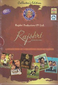 Rajshri Milestones Collector's Edition 6 DVD Pack (Indian/Bollywood/Cinema)