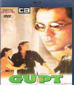 Gupt Hindi Blu Ray (Bollywood/Cinema/Film)Stg Bobby Deol, Kajol, Manisha Koirala
