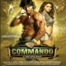Commando Hindi DVD (Bollywood/2013/Film/Movie/Cinema)*Vidyut Jamwal,Pooja Chopra