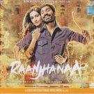 Raanjhana Hindi Songs CD (Bollywood,Movie,Songs,Music)*A.R. Rahman,Sonam Kapoor