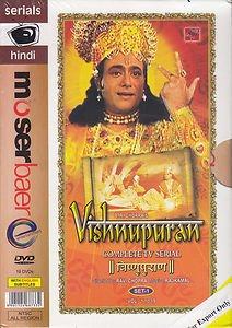 Vishnupuran Hindi DVD Set  (Indian/Mythological/Film) (With English Subtitles)