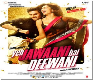Yeh Jawaani Hai Deewani Hindi DVD (Romantic/Love/2013/Bollywood/Cinema)