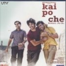 Kai Po Che Hindi Blu Ray (2013/Bollywood/Sushant Singh Rajput/Film/Cinema)