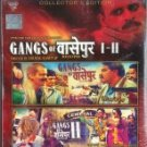 Gangs of Wasseypur I  and II Hindi Blu Ray Combo (2013/Bollywood/FIlm/Cinema)