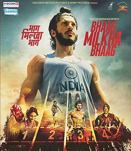 Bhaag Milkha Bhaag Hindi DVD (Bollywood Film/Movie) Farhan Akhtar, Sonam Kapoor
