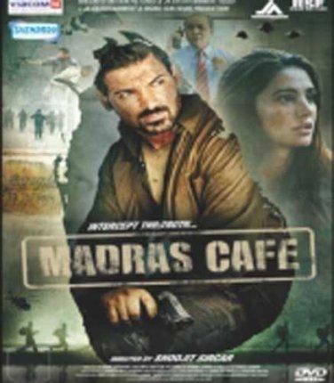 Madras Cafe Hindi DVD (Bollywood/2013/Cinema)