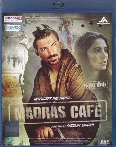 Madras Cafe Hindi Blu Ray (2013/Indian/Bollywood)*John Abraham, Nargis Fakhri