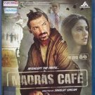 Madras Cafe Hindi Blu Ray (2013/Indian/Bollywood)*John Abraham, Nargis Fakhri