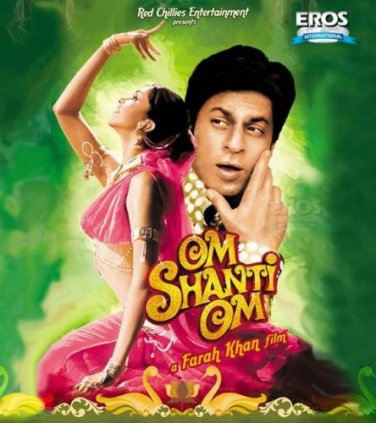 Om Shanti Om Hindi Dvd (Indian/Bollywood/Cinema/Film)*Shahrukh, Deepika