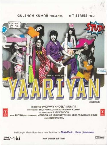 Yaariyan Hindi DVD *ing Himansh Kohli, Serah Singh (Bollywood/Film/2014/Indian)