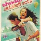 Shaadi Ke Side Effects Hindi DVD*ing Farhan Akhtar,Vidya Balan (2014 Movie/Film)