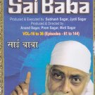 Sai Baba - 36 Dvds Complete Set by Ramanand Sagar(Devotional/TV Series/Serail)