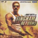 Singham Returns Hindi Blu Ray Stg:Ajay Devagan,Kareen Kapoor (Bollwood Film DVD)