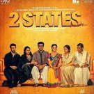 2 STATES Blu-Ray (Bollywood Hindi Film) Arjun Kapoor, Aia Bhatt