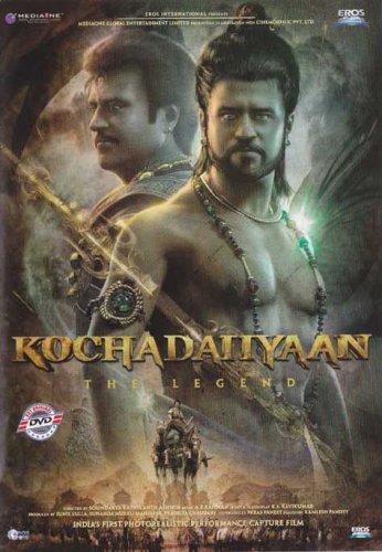 Kochadaiyaan Hindi DVD*ing Rajnikanth, Deepika (Bollywood/Film/2014 Movie)