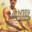 Singham Returns Hindi DVD Stg: Ajay Devagan, Kareen Kapoor (Bollwood Film DVD)