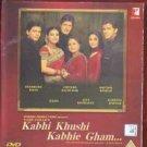 Kabhi Khushi Kabhie Gham Hindi DVD(Bollywood/Film)*ing Amithab,Sharukh Khan,Rani