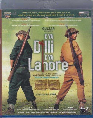 Kya Dilli Kya Lahore Hindi Blu Ray (Bollywood/2014 Movie/Film)