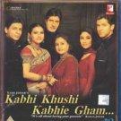 Kabhi Khushi Kabhi Ghsm Hindi Blu Ray *ing Amithab Bachchan,Shah Rukh, Hrithik