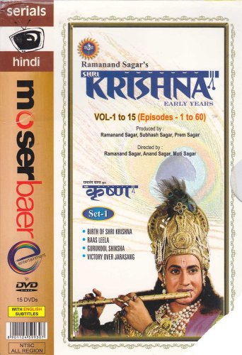 Shri Krishna Hindi Complete DVD Set(Devotional/Hindi/Tvseries/Mythological)