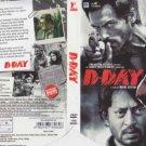 D Day Hindi DVD(Bollywood/Film) *ingIrfan Khan,Nasser,Akash Dhaiya,Huma Quereshi